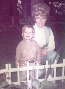 Me and Mom White Fence